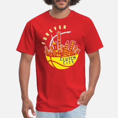Houston Rockets Clutch City Forever - Men's T-Shirt