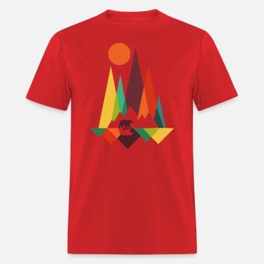 1c07c978 bear in whimsical wild prints Men's Premium T-Shirt | Spreadshirt