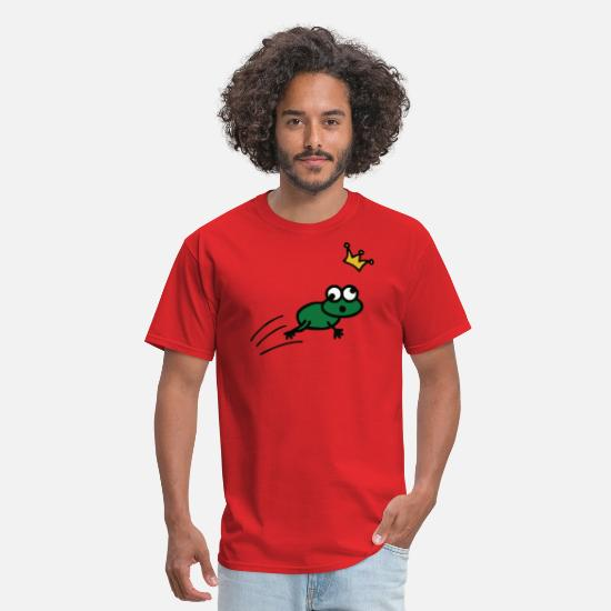 Frog T-Shirts - Frog Prince - Men's T-Shirt red