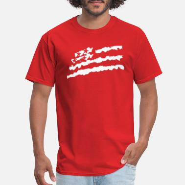 Usa Rap flag - Men's T-Shirt