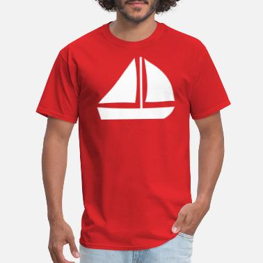 Sail Boat Sail Boat with two sails - Men's T-Shirt