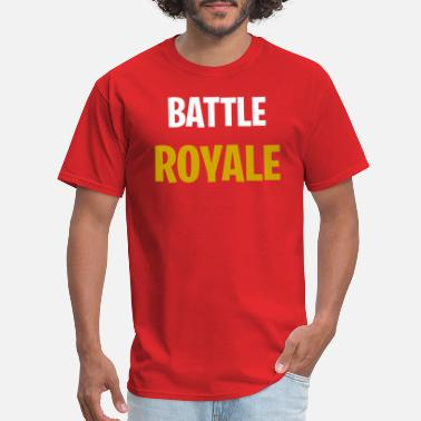 Letter Royal Battle Royal in capital letters - Men's T-Shirt