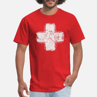 Swiss German Swiss cross - Switzerland - Swiss - Men's T-Shirt