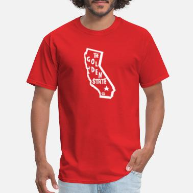 State Motto The Golden State - Motto - California - USA - Men's T-Shirt