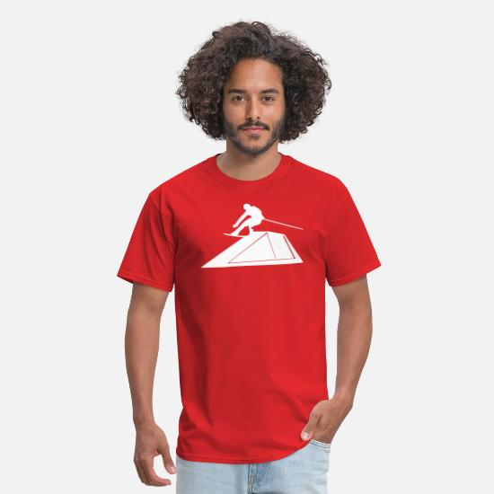Hawaii T-Shirts - Wakeboarder/Kiteboard - Men's T-Shirt red