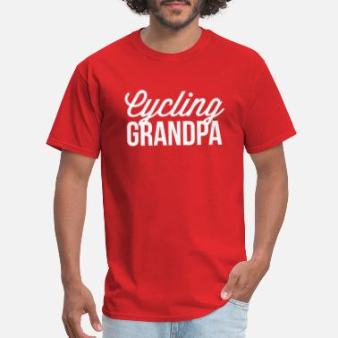Cycling Grandpa Cycling Grandpa - Men's T-Shirt