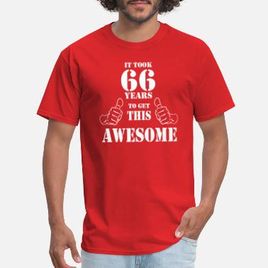 66th Birthday 66th Birthday Get Awesome T Shirt Made in 1951 - Men's T-Shirt