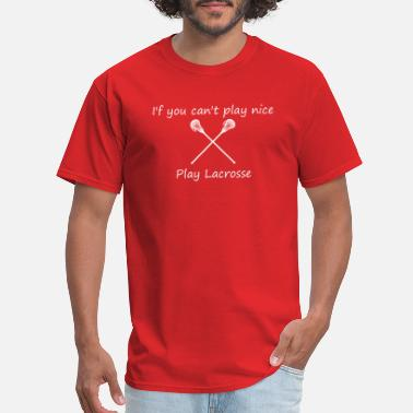 lacrosse3 - Men's T-Shirt