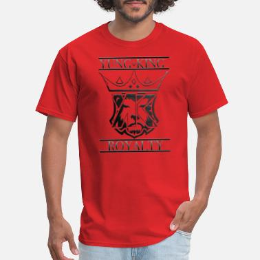 King Royalty YUNG KING ROYALTY CREST - Men's T-Shirt