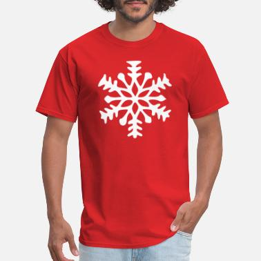 Snow Crystal Snowflake Snow crystal ice crystal - Men's T-Shirt