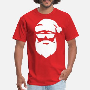 santa christmas beard xmas shirt - Men's T-Shirt
