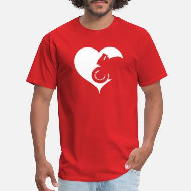 Superbike Love Motorcycle Superbike Motorcyclist Biker Heart - Men's T-Shirt