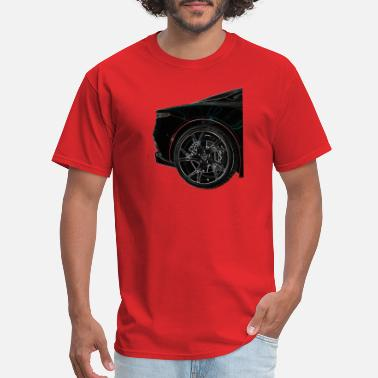 Blacklight Blacklight Aston Wheel - Men's T-Shirt