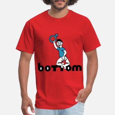 Bottom bottom - Men's T-Shirt