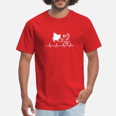 Cockfighter Cockfighting Game Heartbeats - Men's T-Shirt