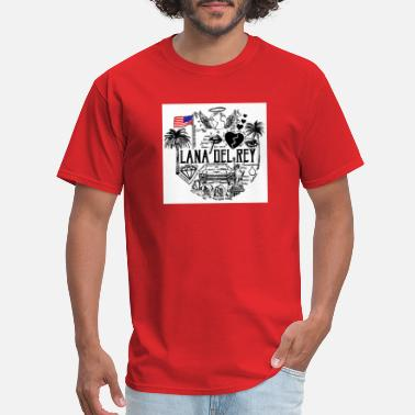 Rey Lana Del Rey - Men's T-Shirt