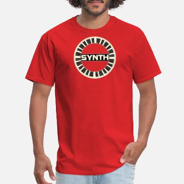 Synth-pop cool synth - Men's T-Shirt