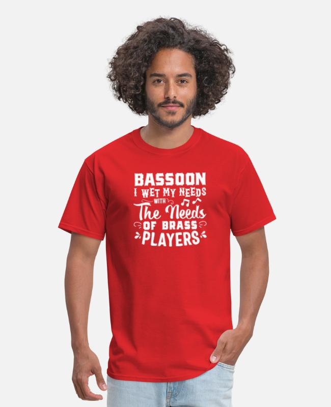 Bassoon I Wet My Reeds With The Tears Of Brass Men S T Shirt Spreadshirt