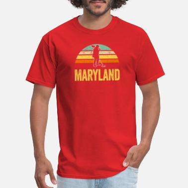 Metal Detecting Maryland Treasure Finding Apparel Metal Detecting - Men's T-Shirt