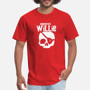 Movie Goonies New Vintage 80s Movie One Eyed Willie Skul - Men's T-Shirt