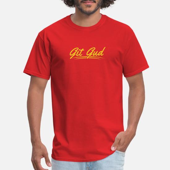 Git Gud Video Gamer Tee Men's T-Shirt   Spreadshirt