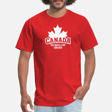 Whistler Canada CANADA, THE MAPLE LEAF FOREVER - Men's T-Shirt