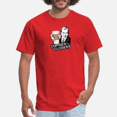 Boyband Coffee is for Closers - Men's T-Shirt