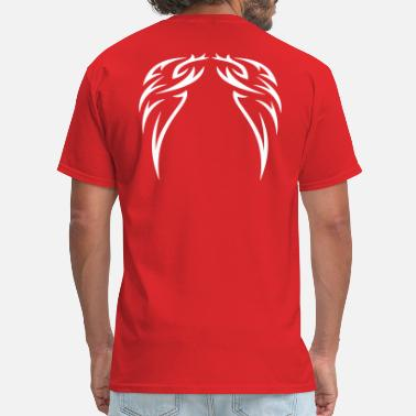 Painting tattoo wings - Men's T-Shirt