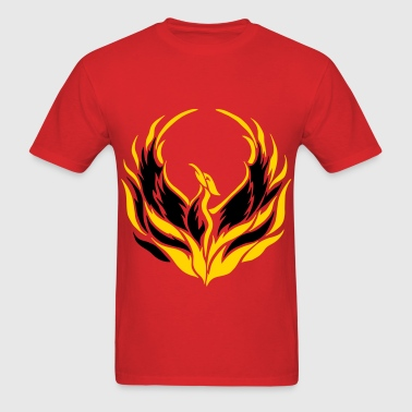 Phoenix Bird - Men's T-Shirt
