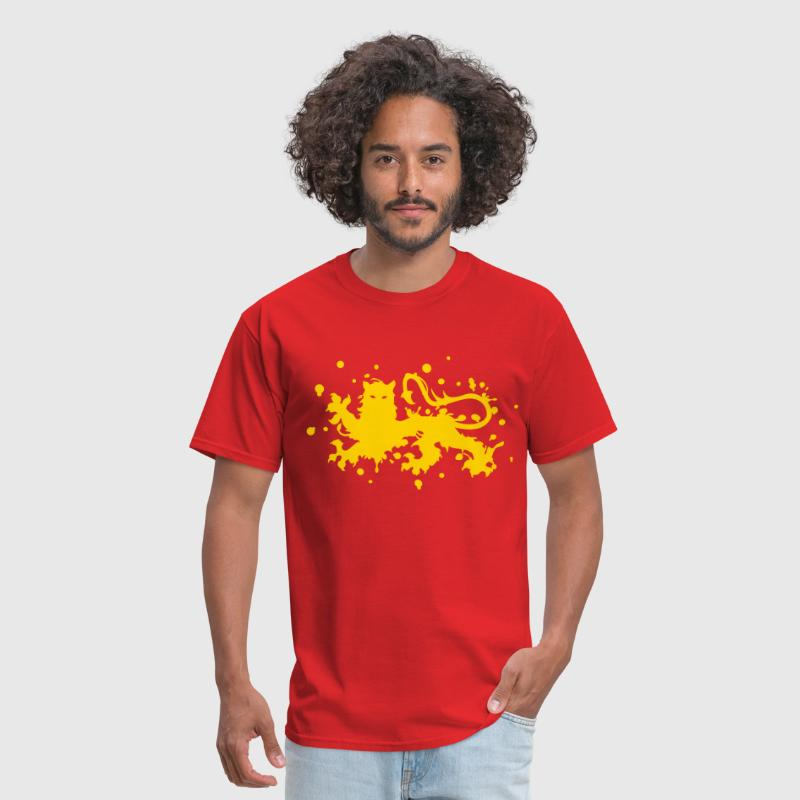 glare leopard lion tiger ink - Men's T-Shirt