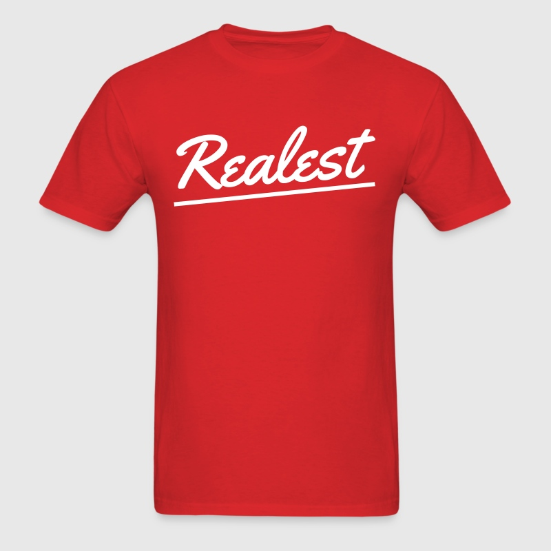 realest - Men's T-Shirt