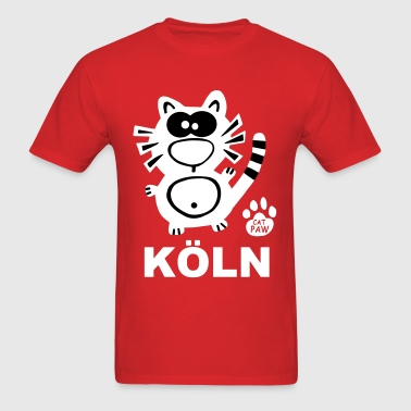 Köln Cologne Colonia CSD Statement Cat Catpaw - Men's T-Shirt