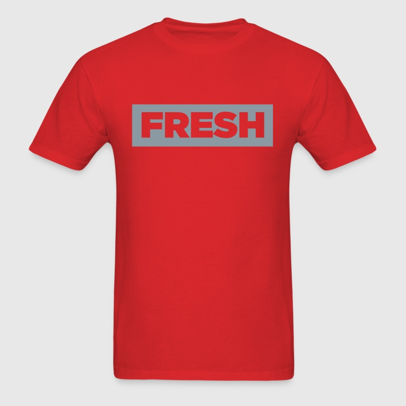 fresh red 2 - Men's T-Shirt