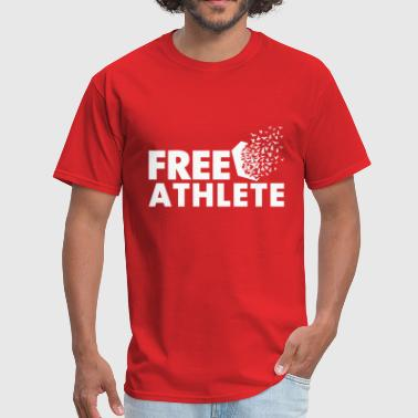 Free Athlete Freedom - Men's T-Shirt