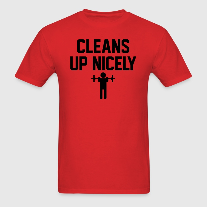 Cleans Up Nicely - Men's T-Shirt