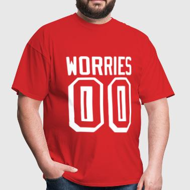 Worries 00 - Men's T-Shirt
