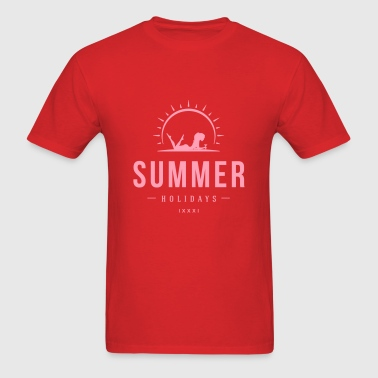 Summer holidays beach - Men's T-Shirt