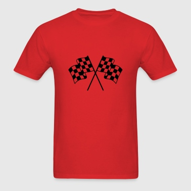 Checkered Flag 1 color - Men's T-Shirt