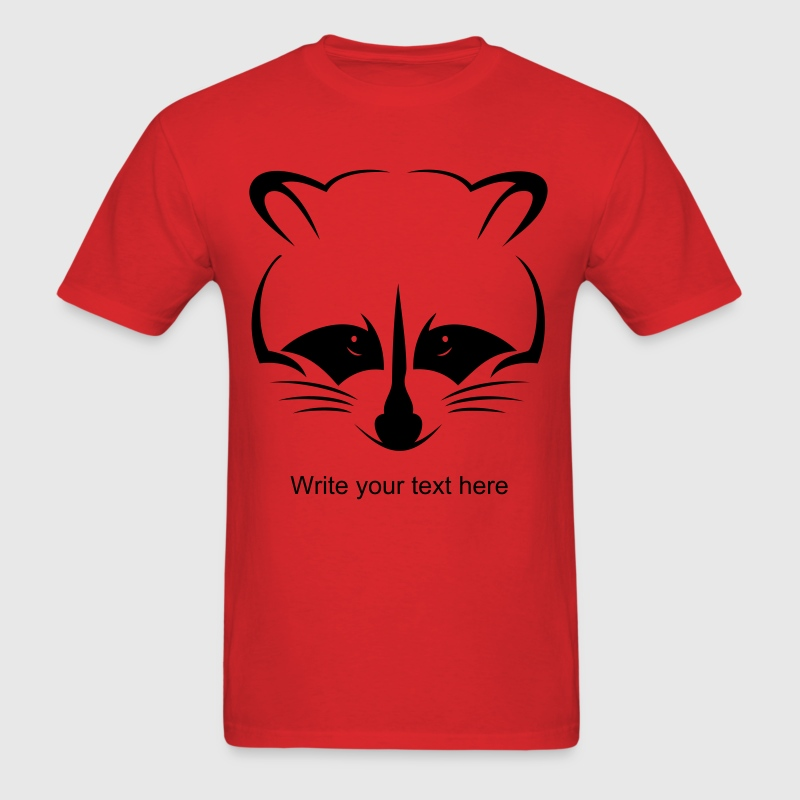 Raccoon Vector - Men's T-Shirt