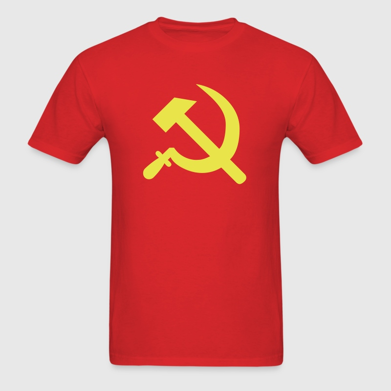 Hammer Sickle Communist Russia 1c - Men's T-Shirt