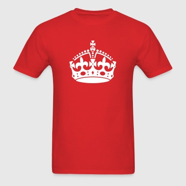 keep calm crown - Men's T-Shirt