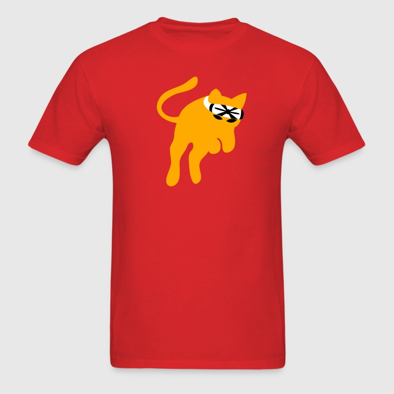 Don't mess with the KARATE kung-fu CAT - Men's T-Shirt