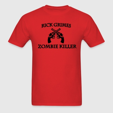 Rick Grimes Zombie killer - Men's T-Shirt