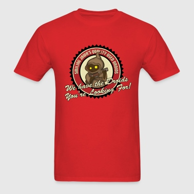 Smiling Jawa Used Droids - Men's T-Shirt
