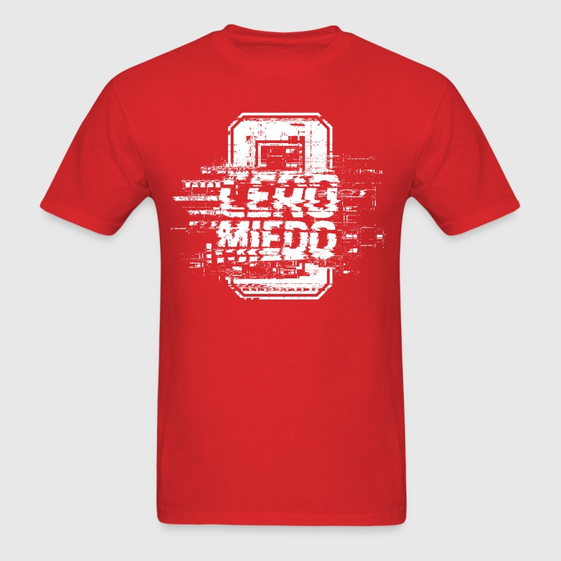 CERO MIEDO [RED/WHITE] - Men's T-Shirt
