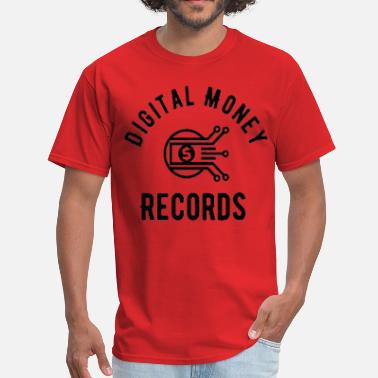 Label Digital Money Records - Men's T-Shirt