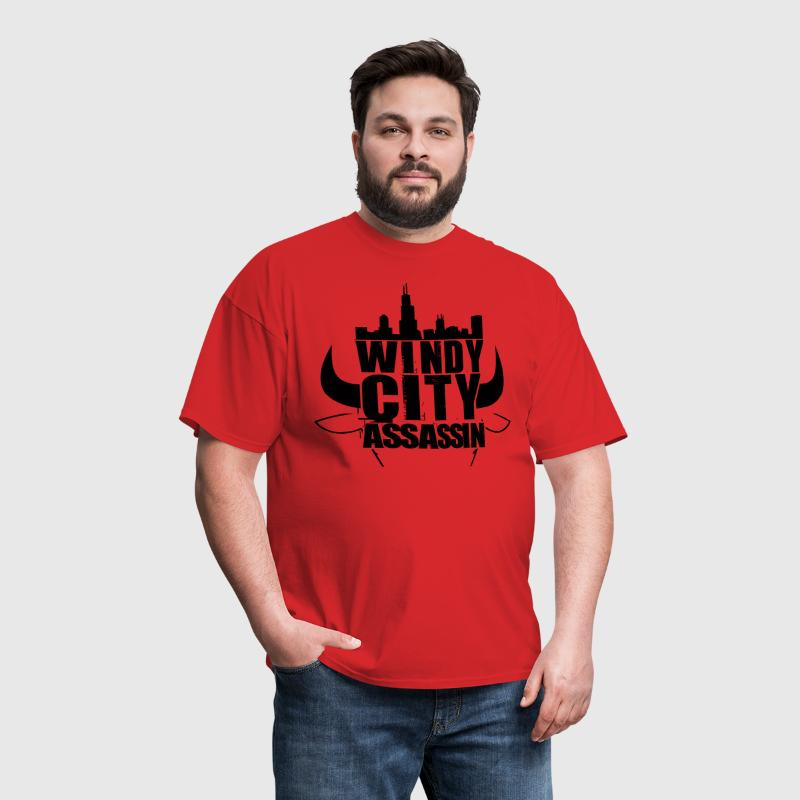 windycity assassin - Men's T-Shirt