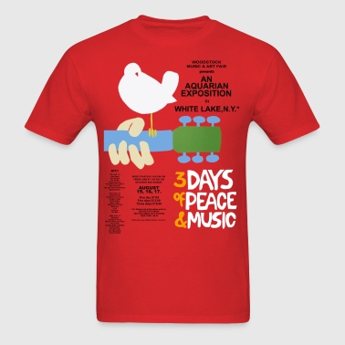 Woodstock - Men's T-Shirt