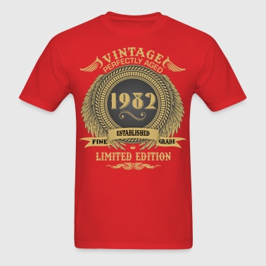 Vintage Perfectly Aged 1982 Limited Edition - Men's T-Shirt