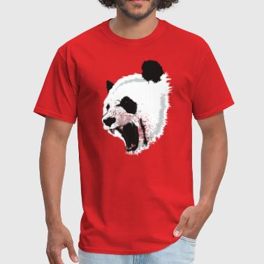 Age 50 Geek Crazy panda - Men's T-Shirt